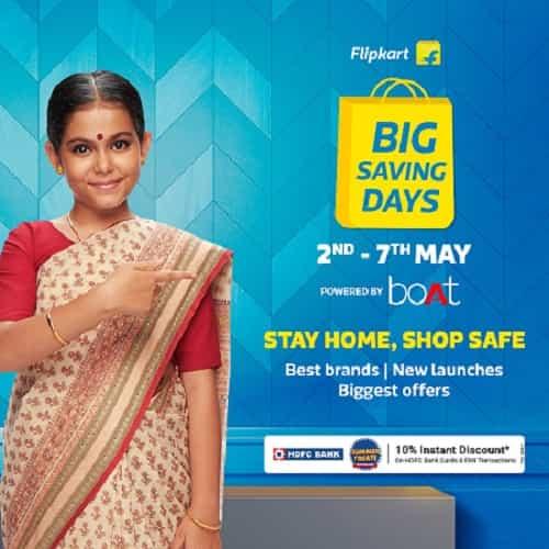 Flipkart Big Saving Days OFfers