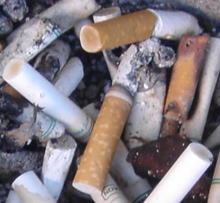 cigarette butts - ready to quit smoking?