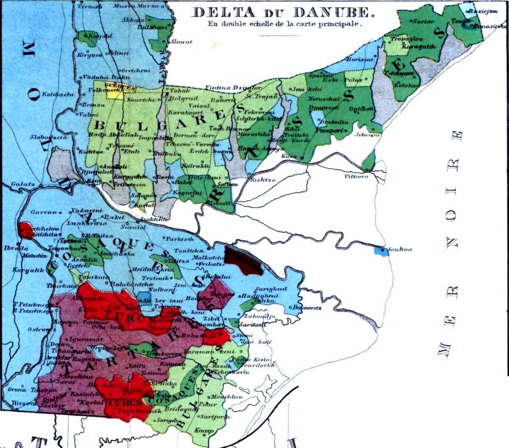 Dobruca (Dobrogea) maps (3/6)