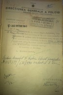 1940 was a peak of the pre-war migration of Crimean Tatars from Romania. The document above is a permit allowing Şefika and Ferida Gafar Seit Amet to leave for Turkey.
