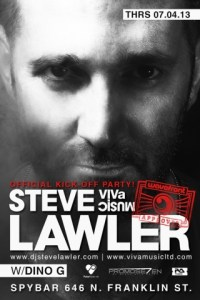 Steve Lawler @ Spybar Chicago 7.4.13 Wavefront Official Pre-Party