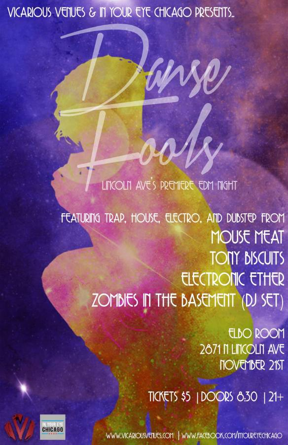 Danse Fools At Elbo Room - Lincoln Park's Newest Monthly EDM Party