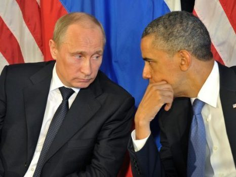 Barack Obama and Russian President Vladimir Putin in 2012. (Photo: Alexei Nikolsky, epa)