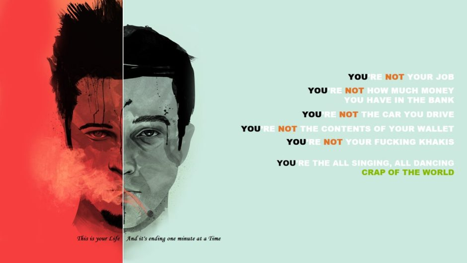 Fight Club book wallpaper