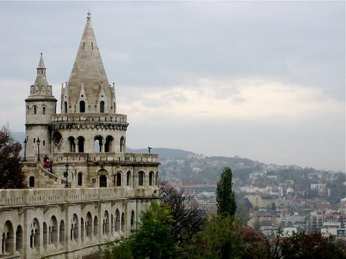 Fisherman's Bastion in Budapest - Things to do in Budapest