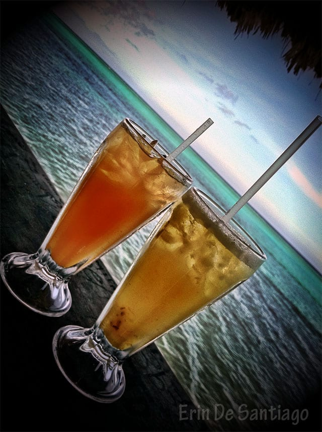 Scotty's Palapa Punch and the Kiwi Cooler