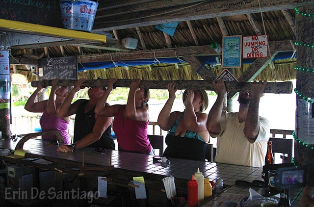 Palapa Bar & Grill shot stick