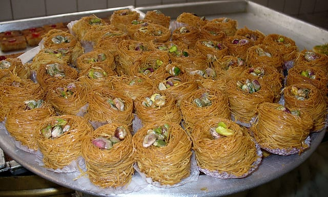 Kunafa is an Arabic Sweet Found All Over