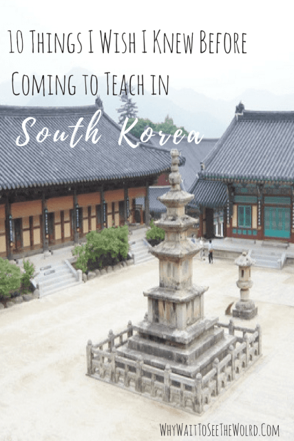 10 Things I Wish I Knew Before Coming to Teach in South Korea