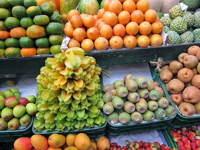 Weird Fruit at a Market in Bogota, Colombia - Plan Your Own Food Tour