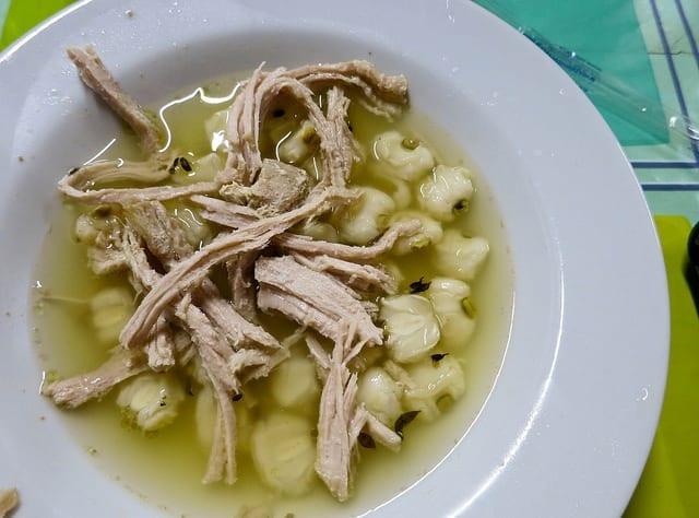 Sampling Pozzole on Vallarta Eats Food Tour in Puerto Vallarta