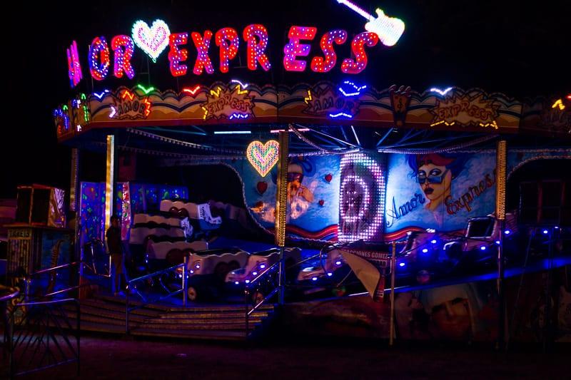 Carnival Rides at Sayulita Days in Mexico