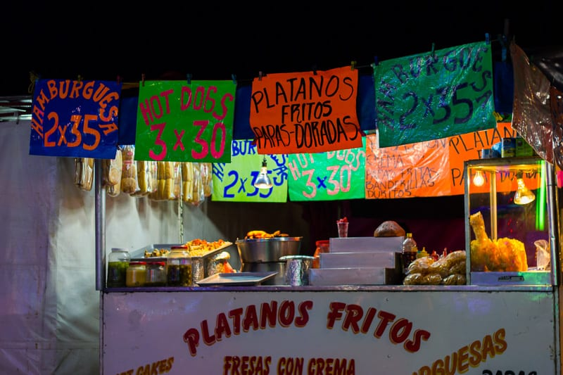 Fried Junk Food for Sale at Sayulita Days