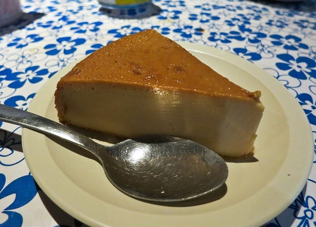 Creamy Flan from Tacos on the Street - Where to Eat in Sayulita - The Best Sayulita Restaurants for Mexican Food