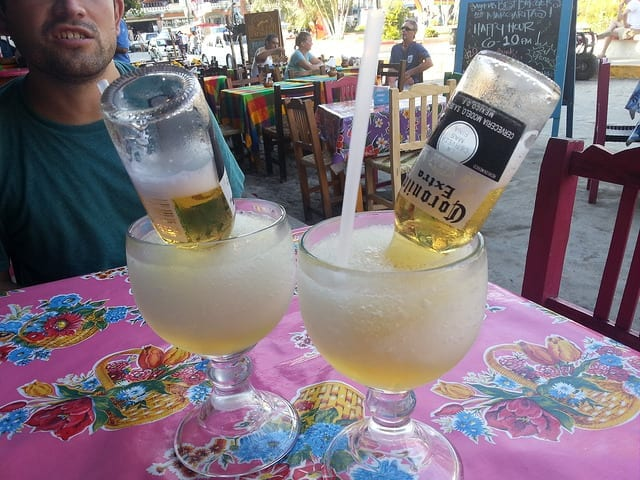 Bulldog Margaritas in Sayulita - The Best Non-Mexican Sayulita Restaurants