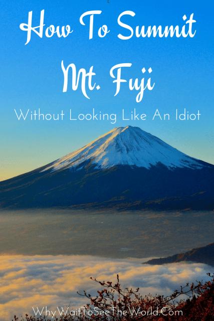 How To Summit Mt. Fuji