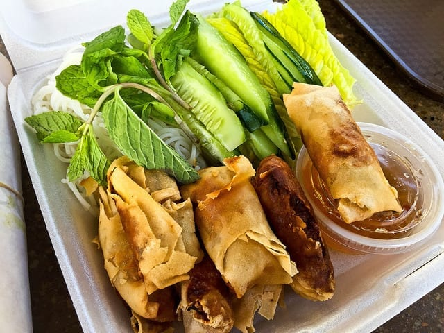 Spring Rolls at Ba Le in Maui - Where to Eat in Maui