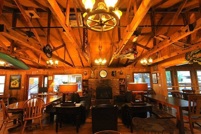 The Lobby at Perhaps The Best Hostel in The US