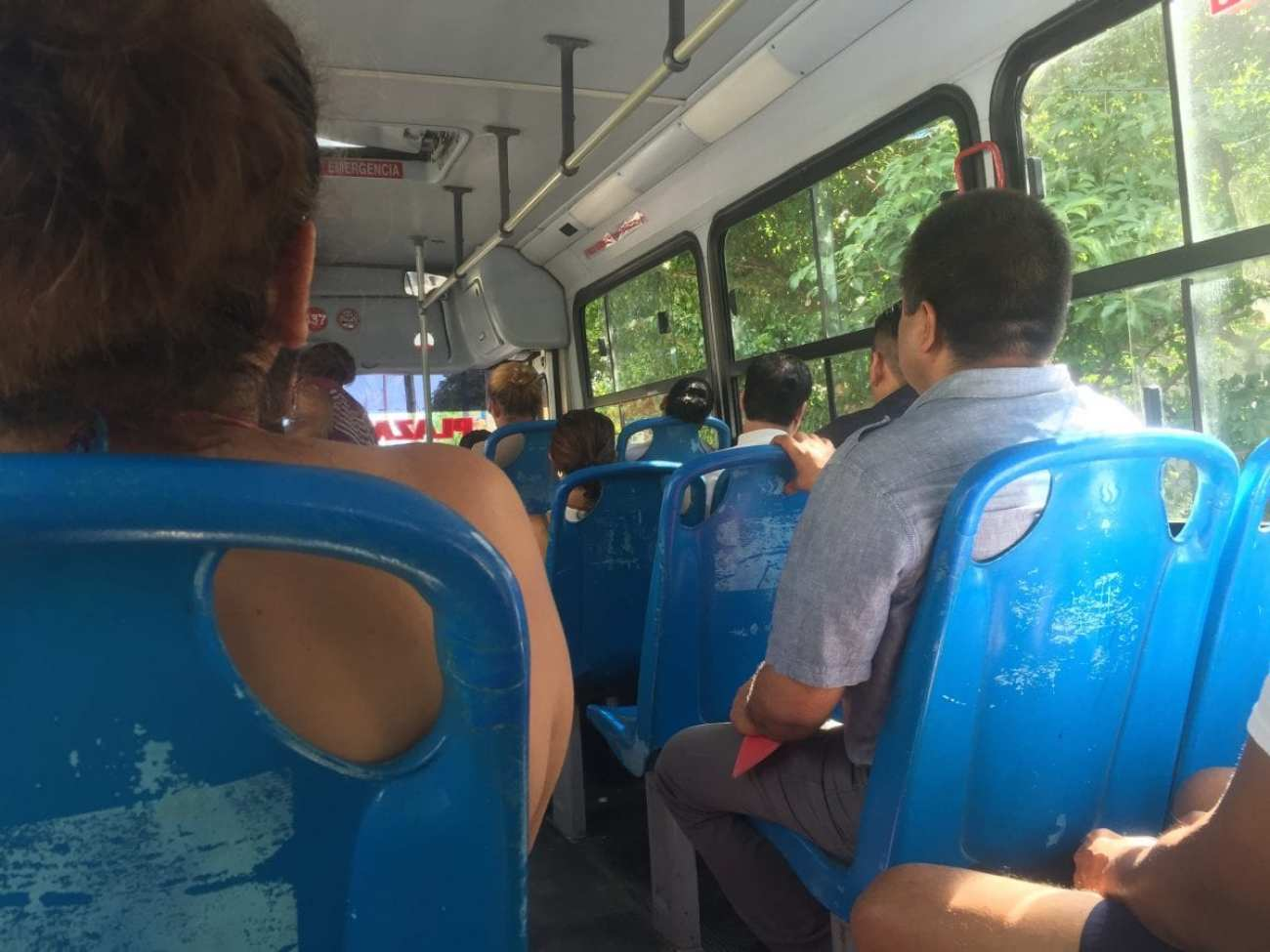On the Public Bus in Cancun - Things to Do in Cancun Off the Beaten Path