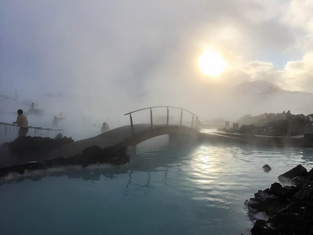 The Blue Lagoon in Iceland - Want to Travel During First Trimester of Pregnancy? Your Destination Matters