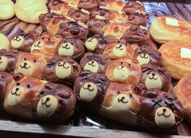 Eat in Japan on a Budget at a Bakery