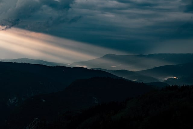 Sunrise in Bosnia - Hiking and Driving in Bosnia