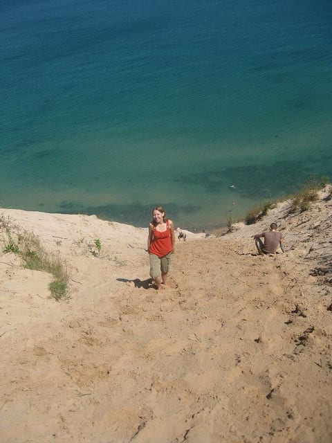 Me with the Blue Green Sea in the Background - How to Joyfully Travel with a Chronic Illness