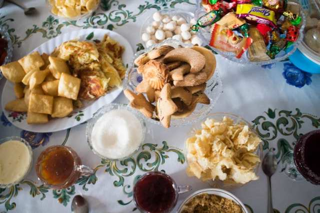 Bread on bread on jelly on cream - The Foods of Kyrgyzstan