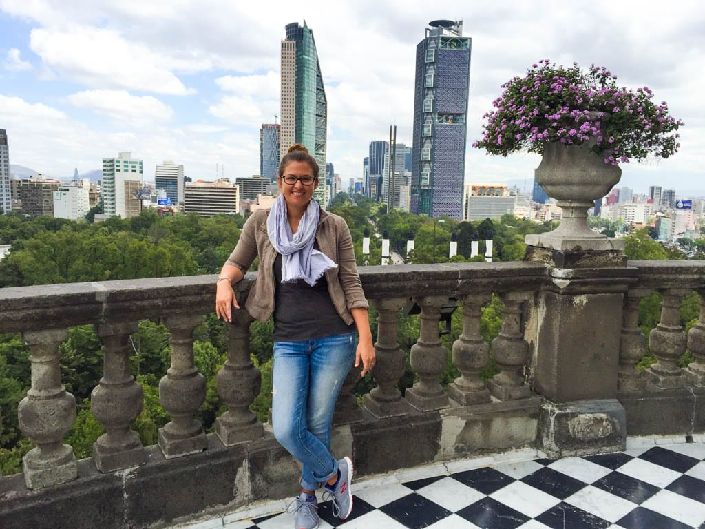Chapultepec castle view Mexico City