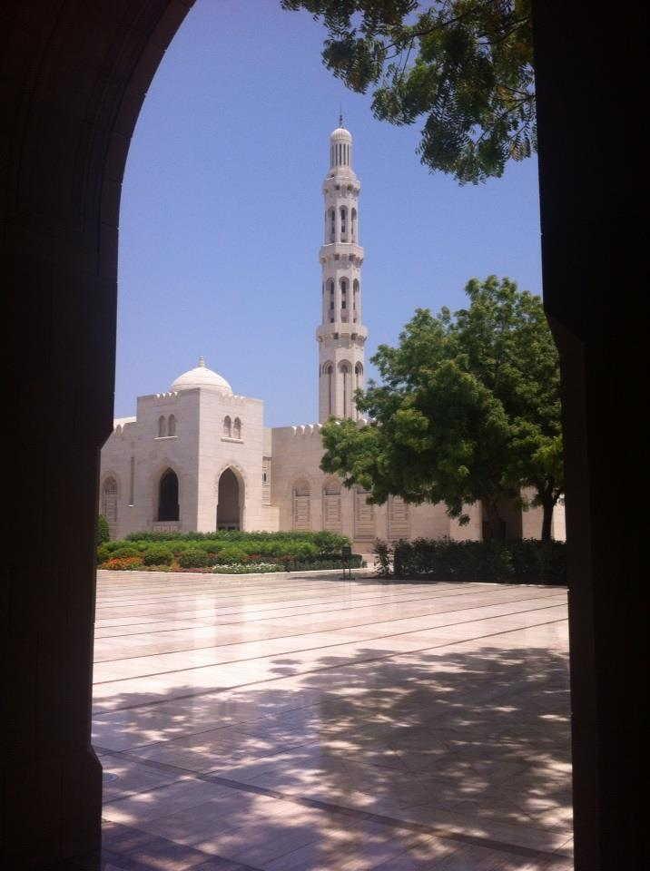 A Mosque in Oman - Positive Experiences in Muslim Countries