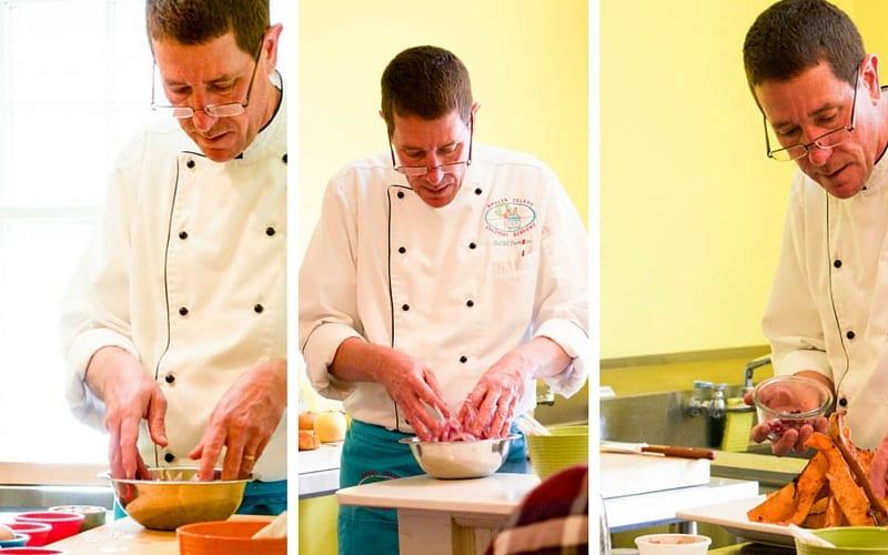 Chef Bill from the Amelia Island Culinary Academy - Cooking Class on Amelia Island