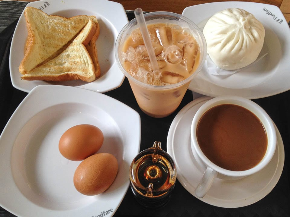 Order a Breakfast Set - Hawker Foods in Singapore