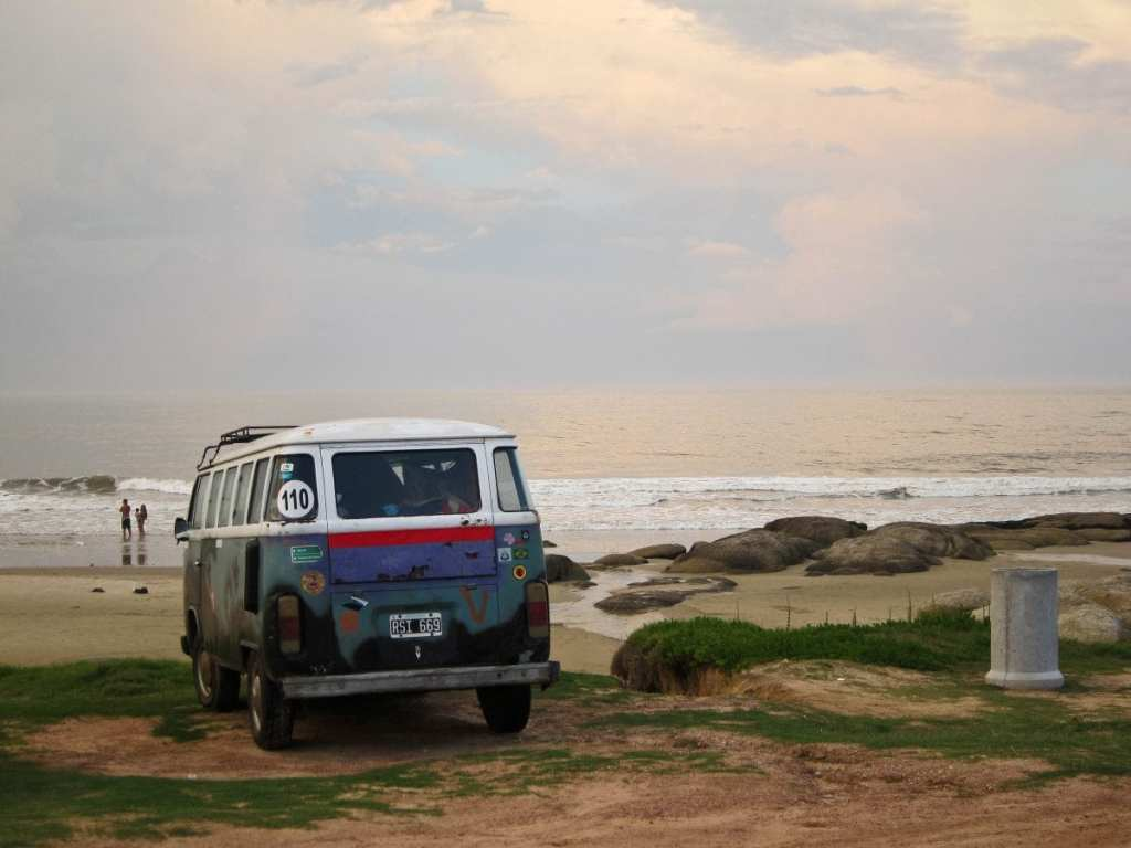 VW Van Parked on the Beach - Why An IUD is the Best Birth Control for Travelers