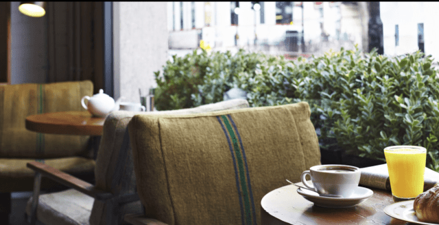 Hubbard and Bell is a Great Little Hotel Cafe to Work from in London