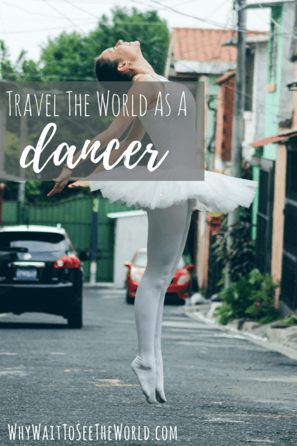 How to travel dancer