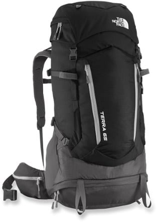 north face travel back pack