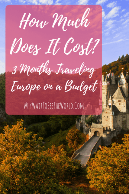 How Much Does It Cost? Traveling Europe on a Budget