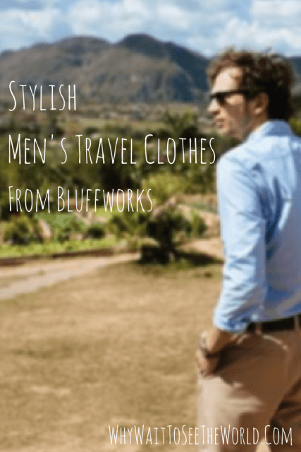 Stylish Men's Travel Clothes