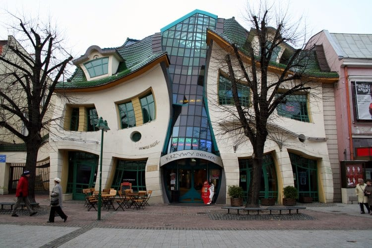 Visiting the Strange Krzywy Domek is Just One of the Reasons to Visit Poland