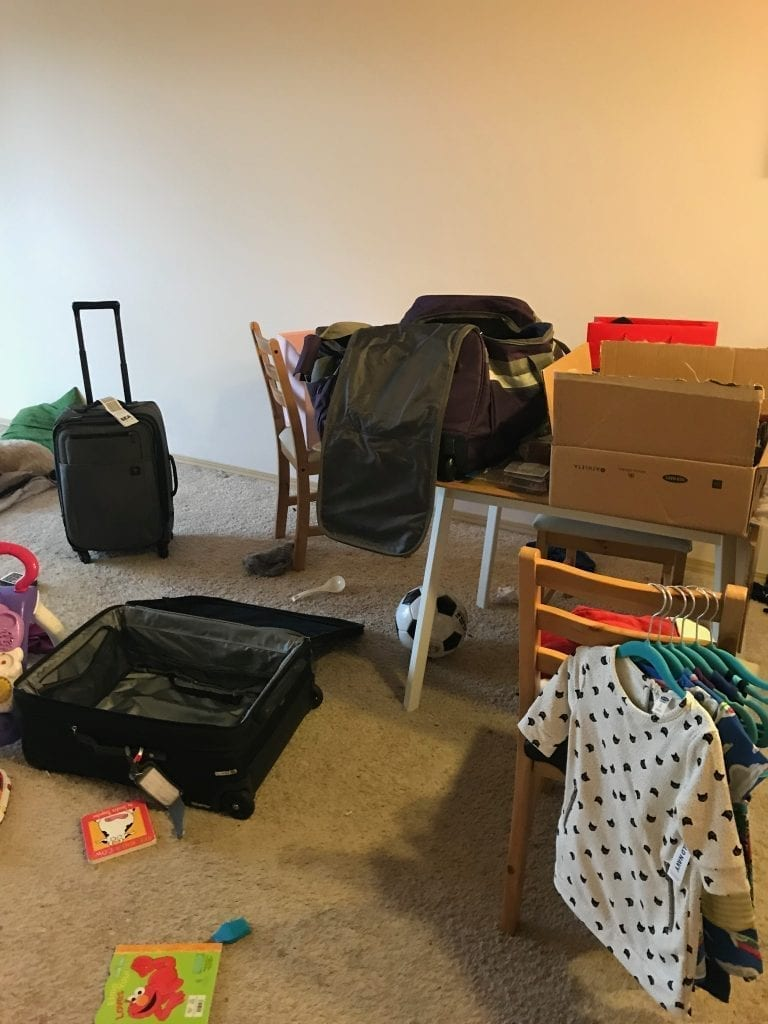 The Chaos of Packing - Preparing to Move Abroad