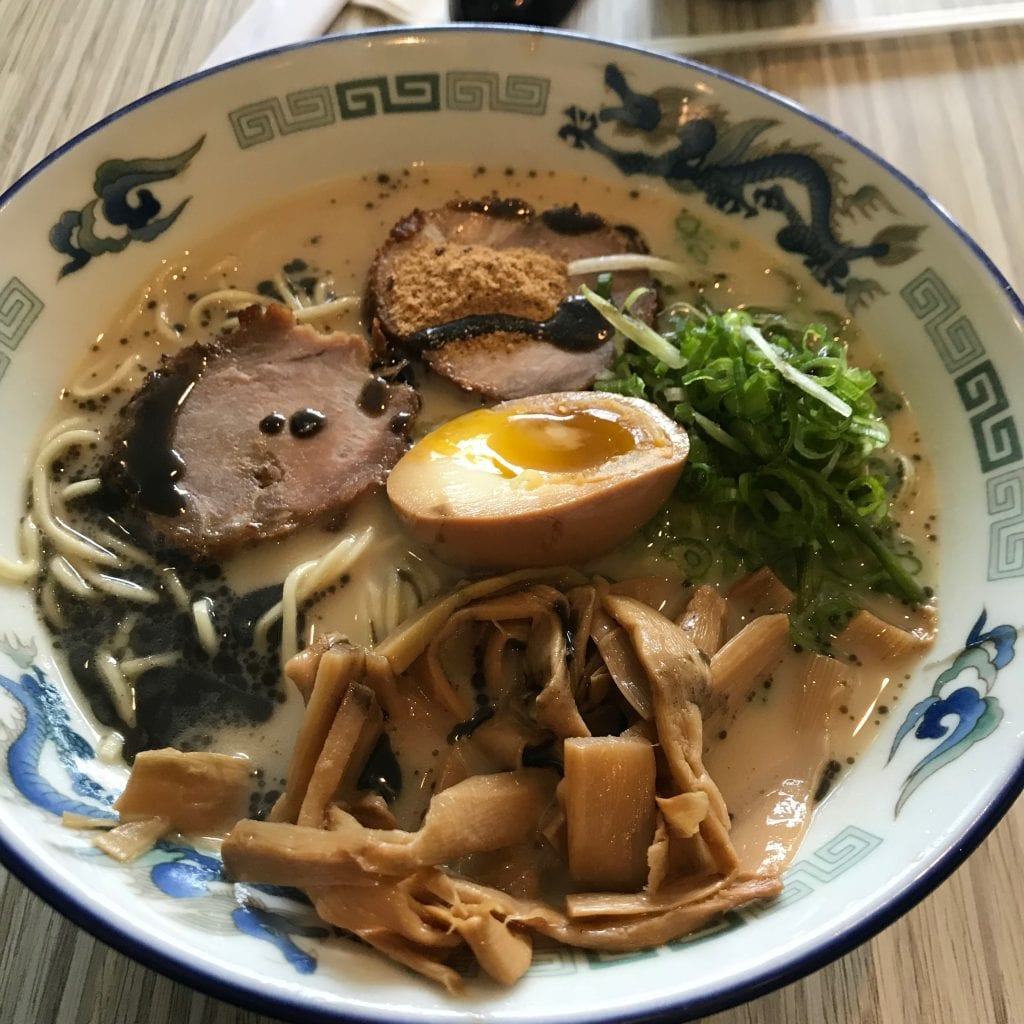 A Hearty Bowl of Ramen before We Move Abroad