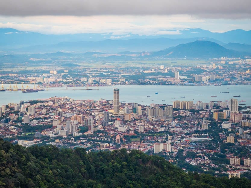The View of Penang from Above - A Luxury Malaysia Holiday
