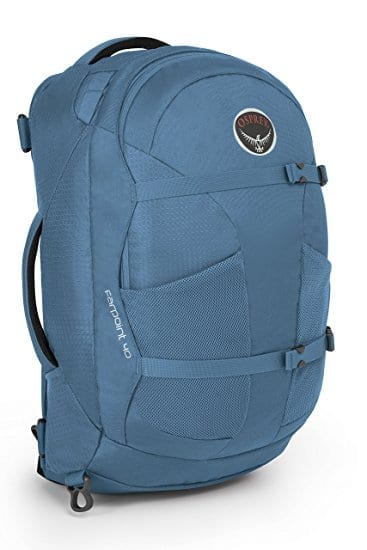 Image of a Blue Osprey Backpack - Best Gifts for Travelers