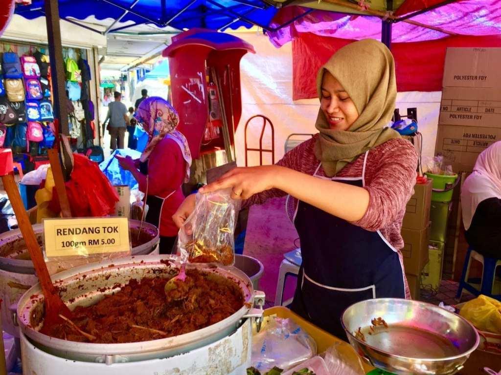 Street Food to Go at the Ramadan Market in Kuala Lumpur