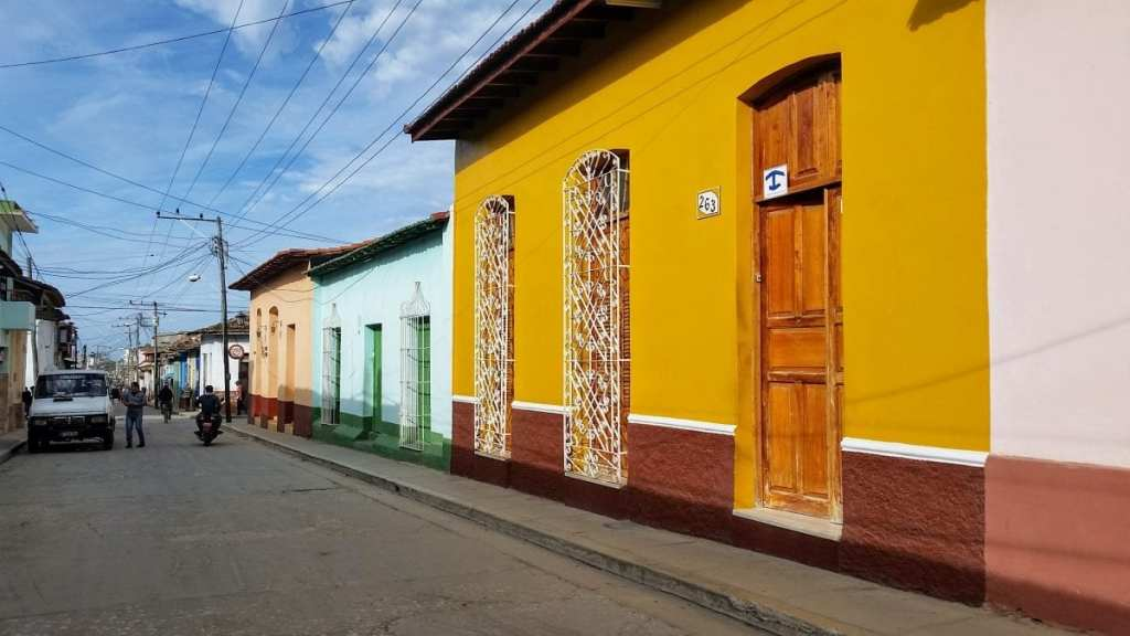 A street in Cuba - Staying at Casa Particulares during our week in Cuba