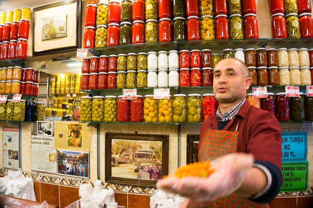 Samples at a Food Stall in Istanbul - Istanbul and Cappadocia in Beautiful Photos