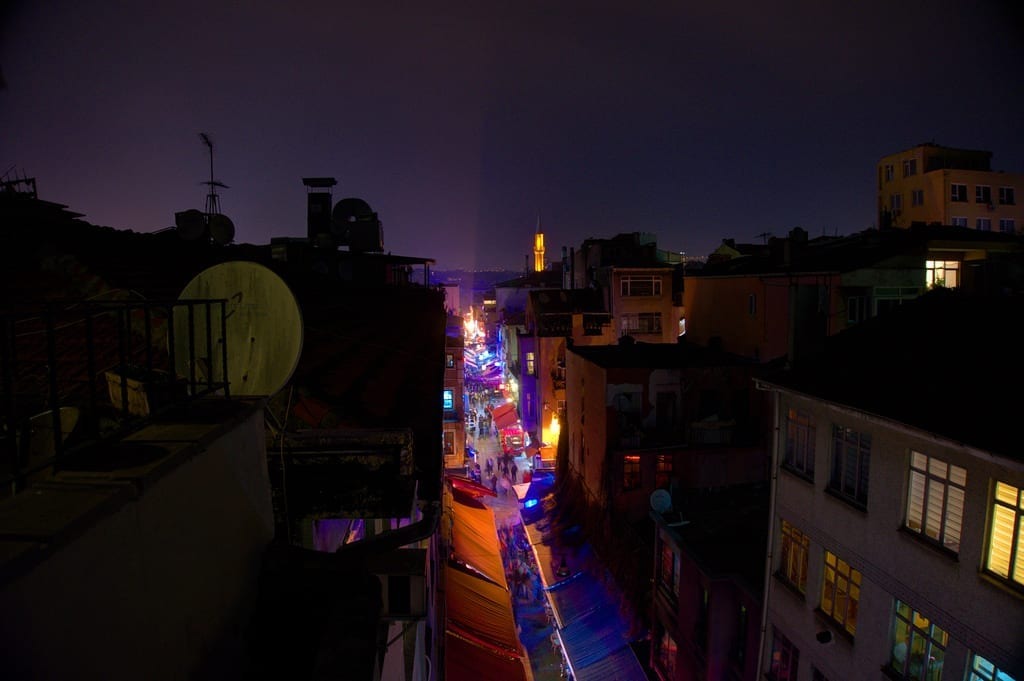 The Streets of Istanbul at Night - Istanbul and Cappadocia in Beautiful Photos