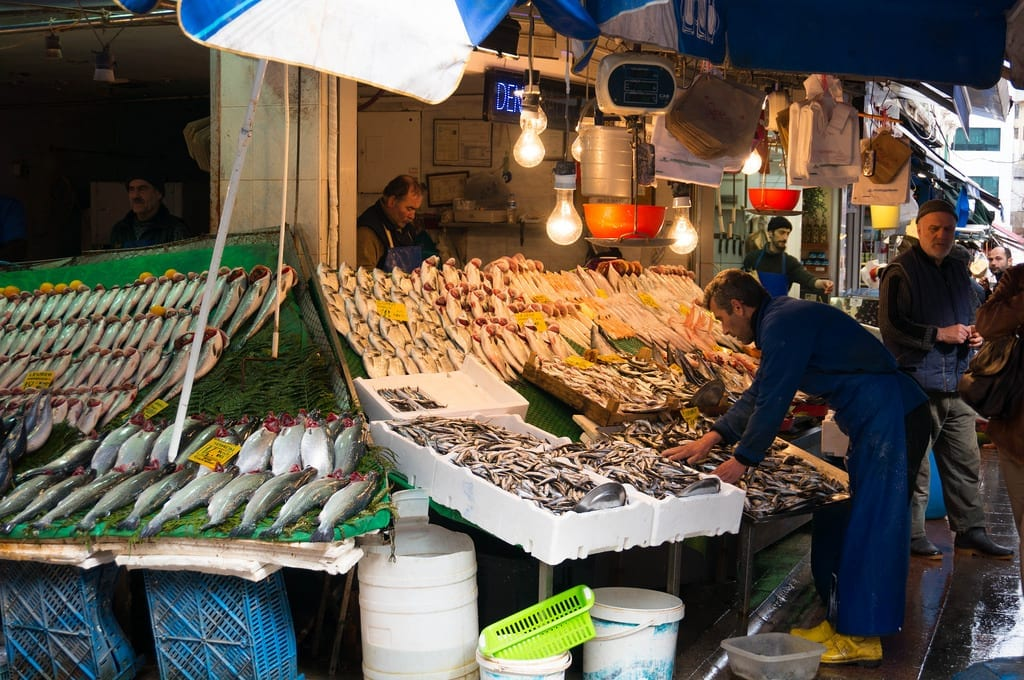Fish for Sale at the Market in Istanbul - Istanbul and Cappadocia in Beautiful Photos