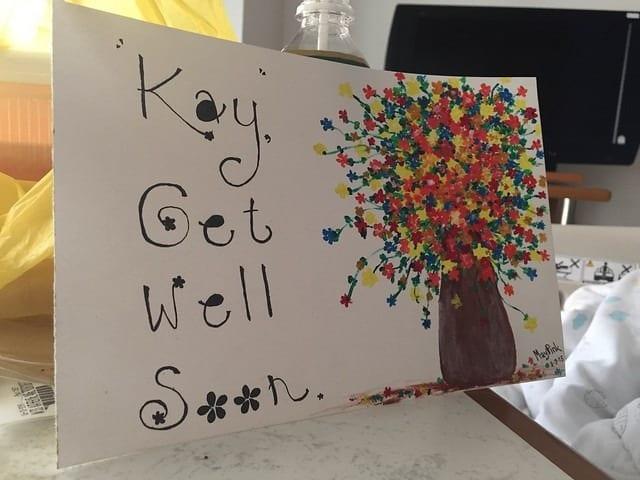 Kay Get Well Soon