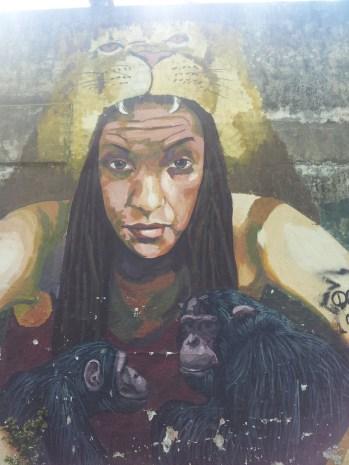 Blu street art mural Argentina